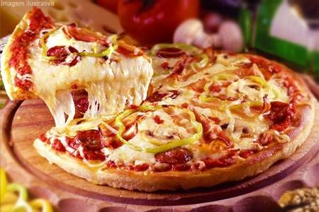 Pizza de Lombinho com Bacon
