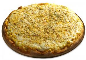 Pizza de Frango com Milho