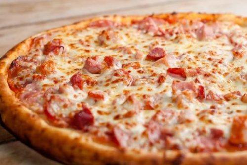 Pizza de Presunto com Catupiri