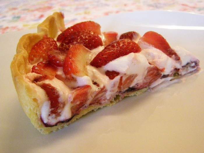 Pizza Manollo - Morango com Chantilly